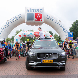 VELDHOVEN (NED) July 4 <br /> CYCLING <br /> The first race of the Schwalbe Topcompetition the Simac Omloop der Kempen<br /> John van den Akker