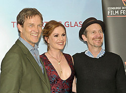 Edinburgh International Film Festival, Sunday, 24th June 2018<br /> <br /> THE PARTING GLASS (WORLD PREMIERE)<br /> <br /> Pictured:  Director Stephen Moyer, Anna Paquin and Denis O'Hare<br /> <br /> (c) Aimee Todd | Edinburgh Elite media