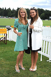 Left to right, sisters the HON.ELIZA PEARSON and the HON.CATRINA PEARSON at the 2008 Veuve Clicquot Gold Cup polo final at Cowdray Park Polo Club, Midhurst, West Sussex on 20th July 2008.<br /> <br /> NON EXCLUSIVE - WORLD RIGHTS