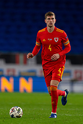 CARDIFF, WALES - Wednesday, November 18, 2020: Wales' Chris Mepham during the UEFA Nations League Group Stage League B Group 4 match between Wales and Finland at the Cardiff City Stadium. Wales won 3-1 and finished top of Group 4, winning promotion to League A. (Pic by David Rawcliffe/Propaganda)