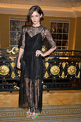 SAI BENNETT at the Lancôme BAFTA Dinner held at The Cafe Royal, Regent's Street, London on 6th February 2015.