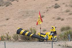 September 23, 2017 - AlcañIz, Teruel, Spain - in the qualifying of the Gran Premio Movistar de Aragon, Circuit of Motorland, Alcañiz, Spain. Saturday, 23rd september, 2017. (Credit Image: © Jose Breton/NurPhoto via ZUMA Press)