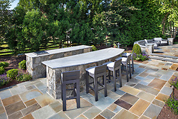 19595 Aberlour rear exterior landscaping Outdoor dining area