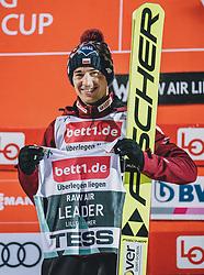 10.03.2020, Lysgards Schanze, Lillehammer, NOR, FIS Weltcup Skisprung, Raw Air, Lillehammer, Herren, Siegerehrung, im Bild Kamil Stoch (POL) 1. Platz und Führender der Raw Air Tour // Kamil Stoch of Poland (1st place) and Leader Raw Air during the winner ceremony for the men's 2nd Stage of the Raw Air Series of FIS Ski Jumping World Cup at the Lysgards Schanze in Lillehammer, Norway on 2020/03/10. EXPA Pictures © 2020, PhotoCredit: EXPA/ JFK