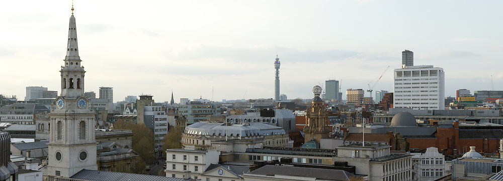 London cityscape by day