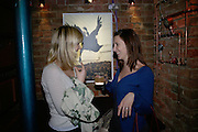 Sarah Hewell and Lucy Daniels, Waste and The Lost World. Memento Mori. Oliver Clegg, Polly Morgan, and Alstair Mackie. The Gallery at Adventure Ecology HQ. Charing Cross Rd. London. 7 March 2007.  -DO NOT ARCHIVE-© Copyright Photograph by Dafydd Jones. 248 Clapham Rd. London SW9 0PZ. Tel 0207 820 0771. www.dafjones.com.