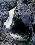 Pools and waterfall along 'Ohe'o Stream, Kipahulu District, Halaekala National Park, Island of Maui, Hawaii.