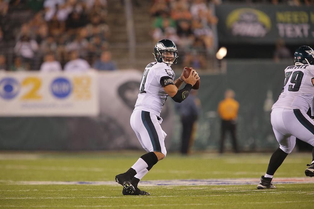 Tim Tebow; 2015 Philadelphia Eagles - Preseason game vs the New York Jets at MetLife Stadium