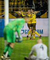 2016.11.22 , Dortmund ,  Pilka nozna UEFA Liga Mistrzow Sezon 2016/2017<br /> Mecz Borussia Dortmund - Legia Warszawa<br /> N/z Radoslaw Cierzniak, Felix Passlack radosc<br /> Foto Rafal Oleksiewicz / PressFocus<br /> <br /> 2016.11.22 , Football UEFA Champions League Season 2016/2017<br /> Borussia Dortmund - Legia Warszawa<br /> Radoslaw Cierzniak, Felix Passlack radosc<br /> Credit Rafal Oleksiewicz / PressFocus