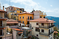Arachova is a town in Boeotia, Greece. A tourist attraction and ski resort.