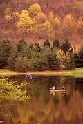Fishing, Autumn, Lackawanna State Park, Lackawanna Co. Northeast PA