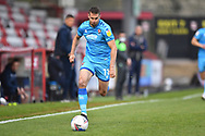 Cheltenham Town Midfielder Matty Blair(11) runs forward during the EFL Sky Bet League 2 match between Stevenage and Cheltenham Town at the Lamex Stadium, Stevenage, England on 20 April 2021.
