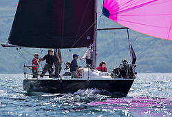 Sailing - SCOTLAND  - 26th May 2018<br /> <br /> DAY 2 Racing the Scottish Series 2018, organised by the  Clyde Cruising Club, with racing on Loch Fyne from 25th-28th May 2018<br /> <br /> IRL1484, Harmony, John Swan, Howth Yacht Club, Half Tonner<br /> <br /> Credit : Marc Turner<br /> <br /> Event is supported by Helly Hansen, Luddon, Silvers Marine, Tunnocks, Hempel and Argyll & Bute Council along with Bowmore, The Botanist and The Botanist