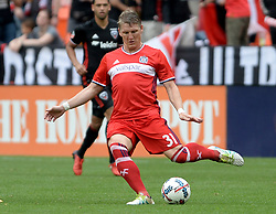 May 20, 2017 - Washington, DC, USA - 20170520 - Chicago Fire midfielder BASTIAN SCHWEINSTEIGER (31) passes against D.C. United in the second half at RFK Stadium in Washington. (Credit Image: © Chuck Myers via ZUMA Wire)