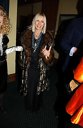 VIRGINIA BATES at a reception to support The Hyde Park Appeal at the Officers Mess, Hyde Park Barracks, London SW1 on 24th January 2007.<br /><br />NON EXCLUSIVE - WORLD RIGHTS