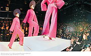 Philip Treacy fashion show. 21/2/99. © Copyright Photograph by Dafydd Jones<br />66 Stockwell Park Rd. London SW9 0DA Tel 0171 733 0108