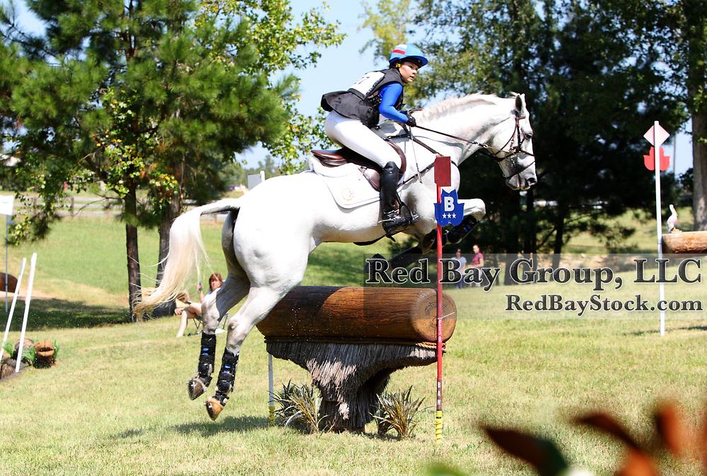 Nina Ligon and Tipperary Liadhnan at the 2011 Poplar Place September Horse Trials in Hamilton, Georgia.