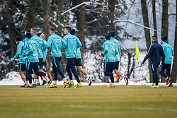 Slovenian players during Training of Slovenian National Football team before friendly matches with Austria and Belarus, on March 19, 2018 in Football National Centre, Brdo pri Kranju, Kranj, Slovenia. Photo by Ziga Zupan / Sportida