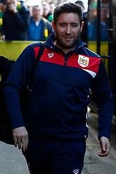 Bristol City head coach Lee Johnson arrives at Carrow Road - Mandatory by-line: Phil Chaplin/JMP - FOOTBALL - Carrow Road - Norwich, England - Norwich City v Bristol City - Sky Bet Championship