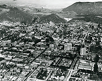 1924 Looking north at Hollywood into the San Fernando Valley