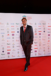 LIVERPOOL, ENGLAND - Tuesday, May 9, 2017: Liverpool's manager Jürgen Klopp arrives on the red carpet for the Liverpool FC Players' Awards 2017 at Anfield. (Pic by David Rawcliffe/Propaganda)