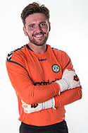 Forest Green Rovers goalkeeper James Montgomery during the 2018/19 official team photocall for Forest Green Rovers at the New Lawn, Forest Green, United Kingdom on 30 July 2018. Picture by Shane Healey.