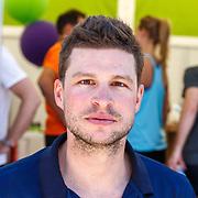 NLD/Amsterdam/20180701 - Evers staat op Run 2018, schaatser Sven Kramer