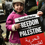 Israel Embassy, London, UK. 31st March 2018: Palestinian and supporters demand justice against Israelis killing of 17 peaceful Palestinian on Palestine's Land Day in Gaza and freedom to go home to Palestine motherland build from blood and sweat.