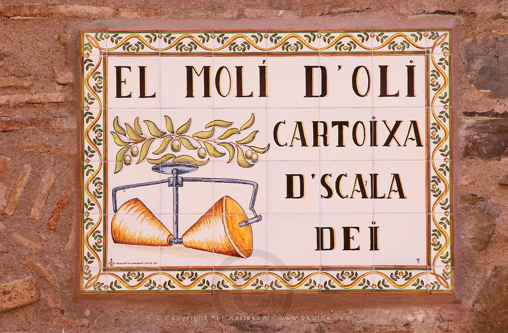The olive oil mill. Scala Dei, Priorato, Catalonia, Spain