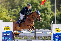 Hendrickx Dominique, BEL, Vintadge de la Roque<br /> Belgisch Kampioenschap Jumping  <br /> Lanaken 2020<br /> © Hippo Foto - Dirk Caremans<br /> 05/09/2020