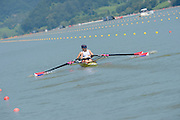 Chungju, South Korea  USA W2X, Bow, Meghan O'LEARY and Ellen TOMEK, move away from the start at the 2013 FISA World Rowing Championships,  at the Tangeum Lake International Regatta Course. 11:24:13  Monday  26/08/2013 [Mandatory Credit. Peter Spurrier/Intersport Images]