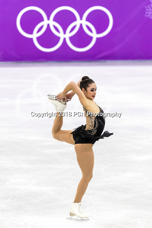 Kaetlyn Osmond (CAN) competes in the Figure Skating - Ladies' Free at the Olympic Winter Games PyeongChang 2018