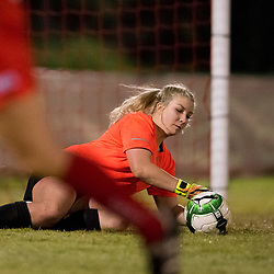 BRISBANE, AUSTRALIA - JULY 26:  during the round 14 PlayStation 4 National Premier Leagues Queensland Women's match between Olympic FC and The Gap FC on July 26, 2017 in Brisbane, Australia. (Photo by Patrick Leigh)