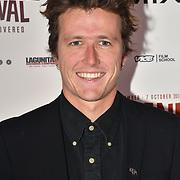 Director Mark Halliday of Vestige attend World Premiere of Team Khan - Raindance Film Festival 2018 at Vue Cinemas - Piccadilly, London, UK. 29 September 2018.