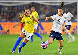 France's Gaetane Thiney during FIFA Women's World Cup France group A match France v Brazil on June 23, 2019 in Le Havre, France. France won 2-1 after extra time reaching quarter-finals. Photo by Christian Liewig/ABACAPRESS.COM
