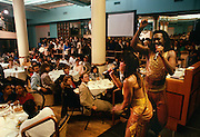 """Nickolas Ashfor and Valerie Simpson, songwriters perform at a New York Restaurant in 1988.   Tjhey wrote """"Ain't No Mountain High Enough""""  and """"You're All I Need To Get By."""""""