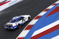 September 27, 2018 - Concord, North Carolina, United States of America - Kaz Grala (61)  brings his car through the turns during practice for the Drive for the Cure 200 at Charlotte Motor Speedway in Concord, North Carolina. (Credit Image: © Chris Owens Asp Inc/ASP via ZUMA Wire)