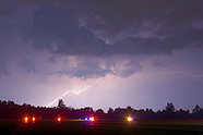 Lightning in the air