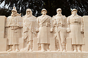 Battle of Verdun memorial in Verdun, France