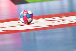 The ball during the Women's european handball chanmpionship preliminary round, Slovenia vs France. Nancy, Fance -02/12/2018//POLEMILE_01POL20181202NAN006/Credit:POL EMILE / SIPA/SIPA/1812021731