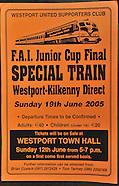 '10 years On' Westport United FAI Junior Cup winners.2005-2015