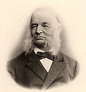 Otto Wilhelm Struve (1819-1905) German astronomer, born at Dorpat.  He followed his father, Friedrich Struve, as director of Pulkova Observatory near St Petersburg, Russia.  Two of his sons became astronomers, and his grandson Otto became director of Yerkes and Macdonald observatories in the United States (1932). Lithograph.