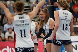 20190424 NED: Sliedrecht Sport - VC Sneek: Sliedrecht<br /> Fleur Savelkoel (6) of Sliedrecht Sport <br /> ©2019-FotoHoogendoorn.nl / Pim Waslander
