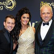 NLD/Amsterdam/20121019- Televiziergala 2012, Dan Karaty, Laura Ponticorvo, Gordon Heuckeroth