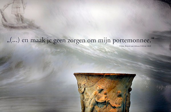 Nederland, Nijmegen, 22-10-2008In het gemeentelijk museum het Valkhof vindt momenteel een expositie plaats over luxe en decadentie in het Romeinse rijk.Foto: Flip Franssen/Hollandse Hoogte