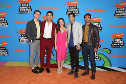INGLEWOOD, CA - MARCH 24: Mel B. attends Nickelodeon's 2018 Kids' Choice Awards at The Forum on March 24, 2018 in Inglewood, California. Credit: Faye Sadou / MediaPunch. 24 Mar 2018 Pictured: Nico Greetham, William Shewfelt, Chrysti Ane, Peter Adrian Sudarso, and Jordi Webber. Photo credit: FS/MPI/Capital Pictures / MEGA TheMegaAgency.com +1 888 505 6342