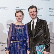 NLD/Amsterdam/20160907 - Inloop Gala van het Nationale Ballet 2016, Celine Purcell en ................