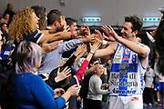 DESCRIZIONE : Campionato 2014/15 Serie A Beko Dinamo Banco di Sardegna Sassari - Upea Capo D'Orlando <br /> GIOCATORE : Giacomo Devecchi<br /> CATEGORIA : Postgame Post Game Esultanza<br /> SQUADRA : Dinamo Banco di Sardegna Sassari<br /> EVENTO : LegaBasket Serie A Beko 2014/2015 <br /> GARA : Dinamo Banco di Sardegna Sassari - Upea Capo D'Orlando <br /> DATA : 22/03/2015 <br /> SPORT : Pallacanestro <br /> AUTORE : Agenzia Ciamillo-Castoria/C.Atzori <br /> Galleria : LegaBasket Serie A Beko 2014/2015