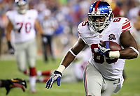 September 25, 2014: New York Giants tight end Daniel Fells (85) in action during a match between the Washington Redskins and the New York Giants at FedEx Field in Landover, Maryland. NFL American Football Herren USA SEP 25 Giants at Redskins PUBLICATIONxINxGERxSUIxAUTxHUNxRUSxSWExNORxONLY Icon140925093<br />
