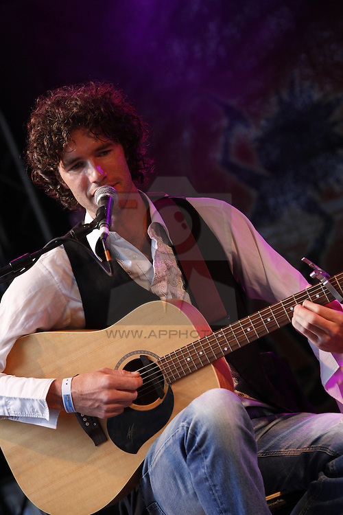 Sam Marais performing live at the Castle Palooza Festival 2010. Pic Andres Poveda